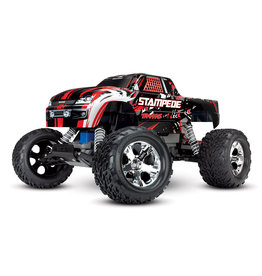 Traxxas 1/10 Stampede 2WD Monster Truck - Red