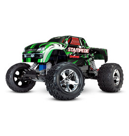 Traxxas 1/10 Stampede 2WD Monster Truck - Green