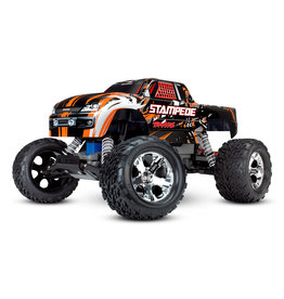 Traxxas 1/10 Stampede 2WD Monster Truck - Orange