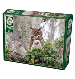 Cobble Hill Great Horned Owl - 1000 Piece Puzzle