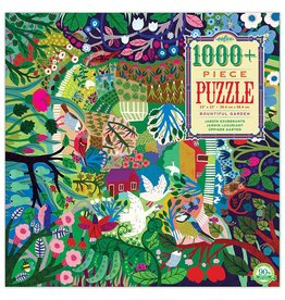 Eeboo Bountiful Garden - 1000 Piece Puzzle