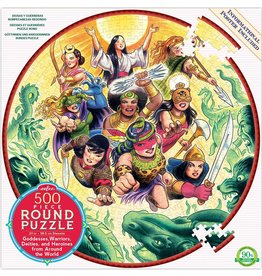 Eeboo Goddesses and Warriors - 500 Piece Puzzle