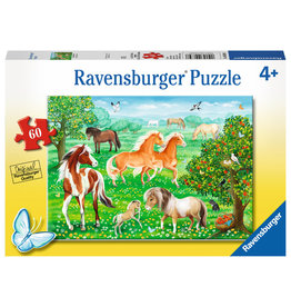 Ravensburger Mustang Meadow - 60 Piece Puzzle