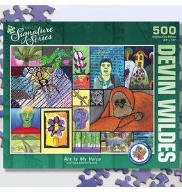Puzzle Twist Art is My Voice - 500 Piece Puzzle