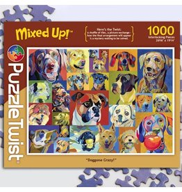 Puzzle Twist Doggone Crazy - 1000 Piece Puzzle