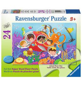 Ravensburger Deep Diving Friends - 24 Piece Floor Puzzle