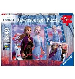 Ravensburger Frozen - 49 Piece Puzzle (3 Pack)