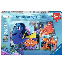 Ravensburger Finding Dory - 49 Piece Puzzle (3 Pack)