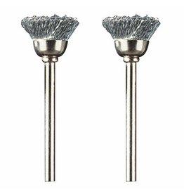 "Dremel 442-02 - 1/2"" Carbon Steel Brushes"