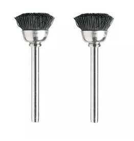"Dremel 404-02 - 1/2"" Nylon Bristle Brushes"