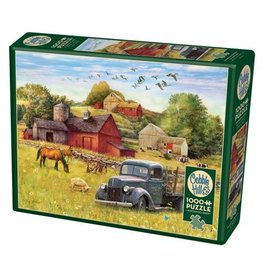 Cobble Hill Summer Afternoon on the Farm - 1000 Piece Puzzle