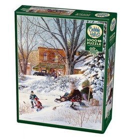 Cobble Hill Getting Ready - 1000 Piece Puzzle