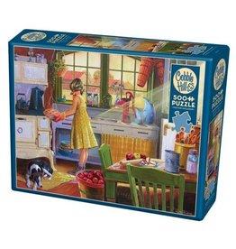 Cobble Hill Apple Pie Kitchen - 500 Piece Puzzle