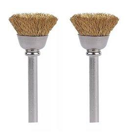 """Dremel 536-02 - 1/2"""" Brass Brushes"""