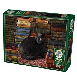 Cobble Hill Library Cat - 1000 Piece Puzzle