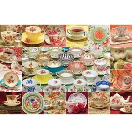 Cobble Hill Teacup Collection - 2000 Piece Puzzle