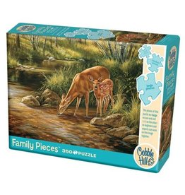 Cobble Hill Deer Family - 350 Piece Puzzle