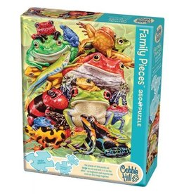Cobble Hill Frog Pile - 350 Piece Puzzle