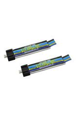 Common Sense RC 1S250-45M - 3.7V 250mAh 45C Lipo Battery 2-Pack