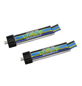 Common Sense RC 1S250-45M - 3.7V 250mAh 45C Lipo Battery 2-Pack