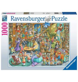 Ravensburger Midnight at the Library - 1000 Piece Puzzle