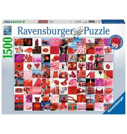 Ravensburger 99 Beautiful Red Things - 1500 Piece Puzzle