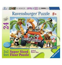 Ravensburger 4 Wheeling - 24 Piece Floor Puzzle
