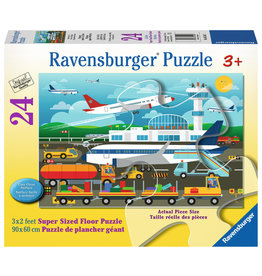 Ravensburger Preparing To Fly - 24 Piece Floor Puzzle