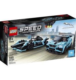 Lego 76898 - Formula E Panasonic Jaguar Racing Gen 2 & Jaguar I-Pace eTrophy