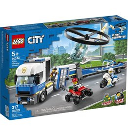 Lego 60244 - Police Helicopter Transport