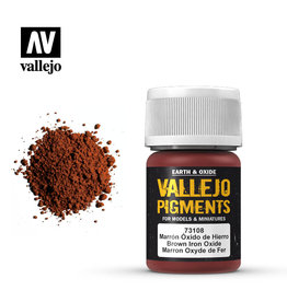 Vallejo 73108 - Brown Iron Oxide Pigment