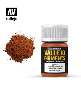 Vallejo 73107 - Dark Red Ochre Pigment