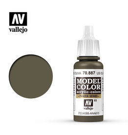 Vallejo 70.887 - Model Color US Olive Drab