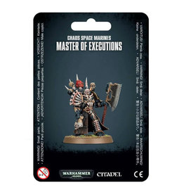Games Workshop 43-44 - Chaos Space Marines Master of Executions
