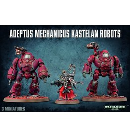 Games Workshop 59-16 - Adeptus Mechanicus Kastelan Robots