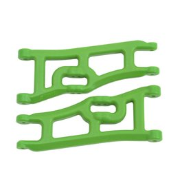 RPM 70664 - Wide Front A-arms for Traxxas Rustler, Stampede 2WD - Green