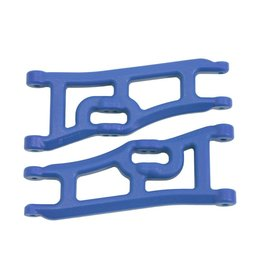 RPM 70665 - Wide Front A-arms for Traxxas Rustler, Stampede 2WD - Blue