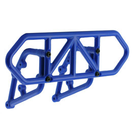 RPM 81005 - Rear Bumper for Traxxas Slash 2WD - Blue