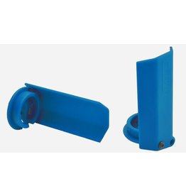 RPM 80435 - Shock Shaft Guards for Traxxas X-Maxx - Blue