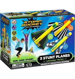D&L Stomp Rocket Stunt Planes