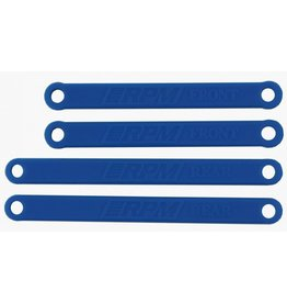 RPM 81265 - Heavy Duty Camber Links for Traxxas Rustler, Stampede 2WD - Blue