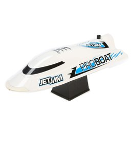 "Pro Boat 08031T2 - Jet Jam 12"" Pool Racer Brushed RTR - White"