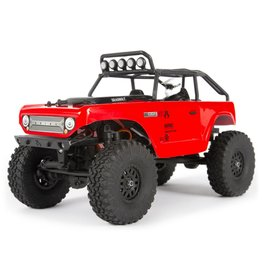 Axial 1/24 SCX24 Deadbolt 4WD Rock Crawler Brushed RTR - Red