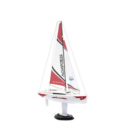 Play Steam Voyager 280 2.4G Sailboat - Red