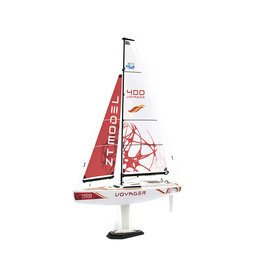 Play Steam Voyager 400 2.4G Sailboat - Red