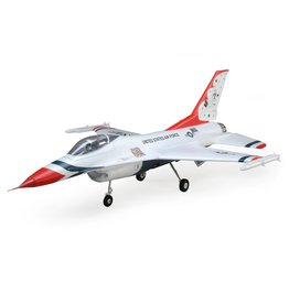 E-flite 7850 - F-16 Thunderbirds 70mm EDF BNF Basic with AS3X and SAFE Select