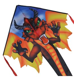 Premier Kites Large Easy Flyer Kite - Red Dragon