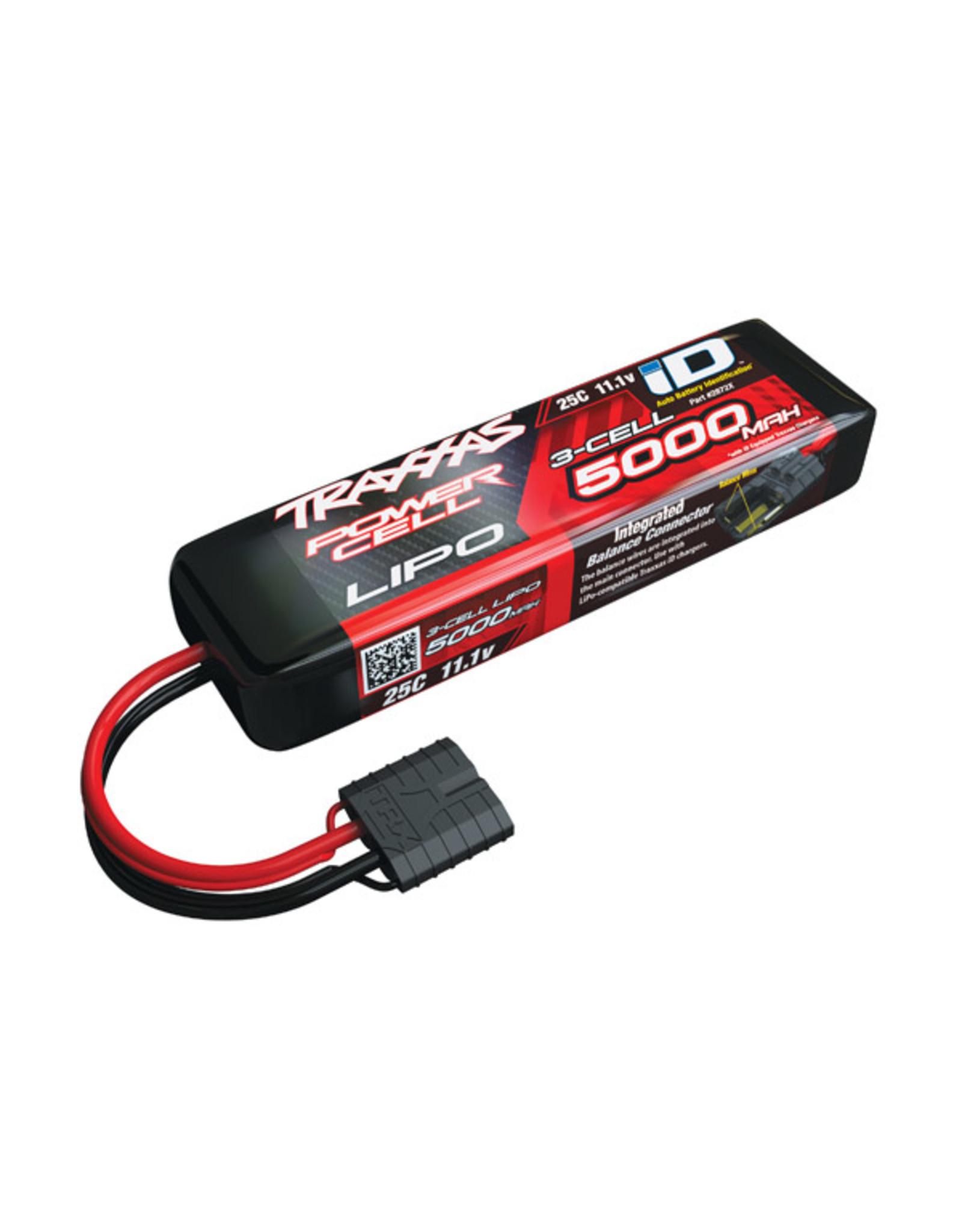 Traxxas 2872X - 5000mAh 11.1v 3-Cell 25C LiPo Battery