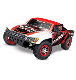 Traxxas 1/10 Slash 4X4 VXL TSM 4WD Brushless RTR Short Course Truck - Red