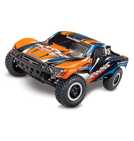 Traxxas 1/10 Slash VXL TSM 2WD Brushless RTR Short Course Truck - Orange